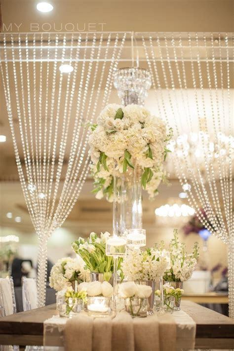 Crystal curtain backdrop   Wedding   Pinterest   Beautiful