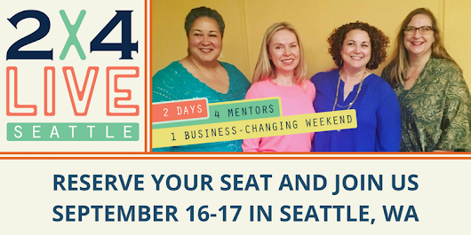 ANNOUNCING 2x4 LIVE Seattle 2017 - Kayla Fioravanti