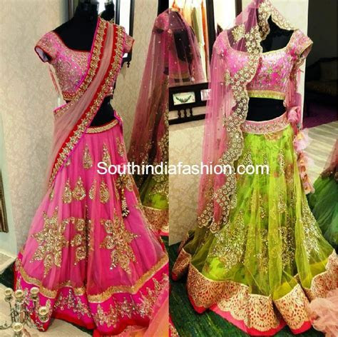 Fabulous Lehengas by Anushree Reddy ? South India Fashion