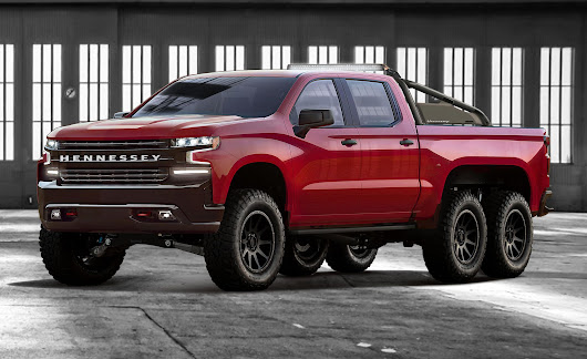 The Hennessey Goliath 6x6 Is a Six-Wheeled 2019 Chevy Silverado