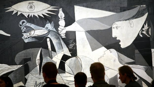 The story of a painting that fought fascism