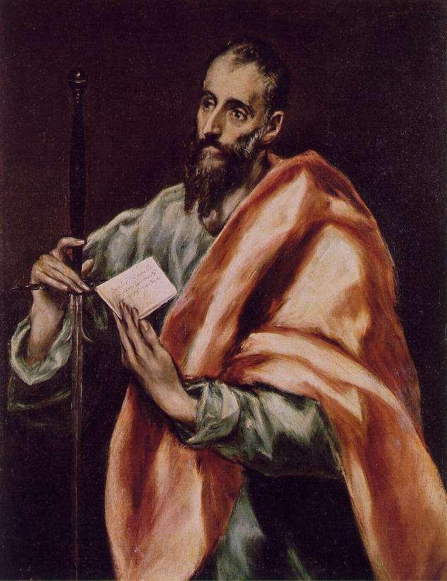 Άγιος Παύλος, Δομήνικος Θεοτοκόπουλος, 1608-1614, Museo del Greco, Τολέδο