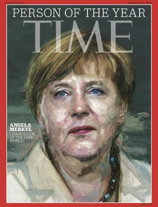 "Theworldface on Twitter: ""Time magazine names #AngelaMerkel as its person of 2015.  """