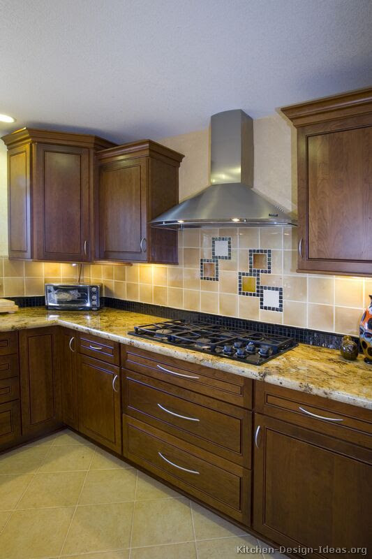 Pictures of Kitchens - Traditional - Dark Wood, Walnut ...