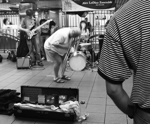 Jazz at Penn station