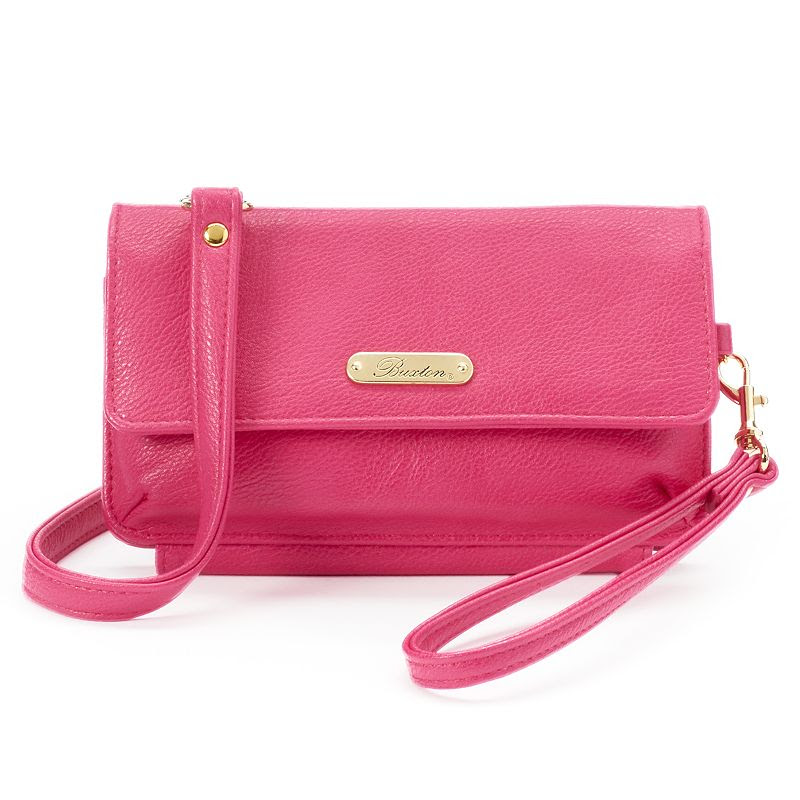 Buxton Convertible Mini Crossbody Bag, Women's, Purple