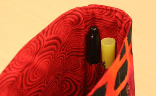 Pen holders in Jenny's bag