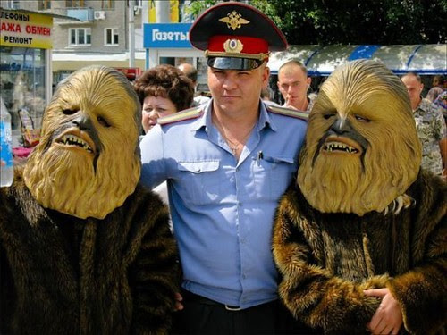 police and wookie