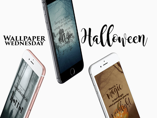 Wallpaper Wednesday: Halloween (freebies included) - debbieschrijft.nl