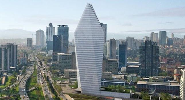 Τον μεγαλύτερο ουρανοξύστη της Κωνσταντινούπολης αγόρασε η Εθνική Τράπεζα