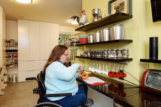 Kitchen Opens Up for a Wheelchair, and a Chef Is Born