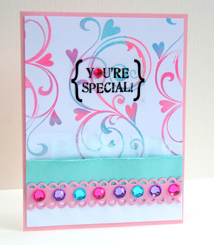 {YOU'RE SPECIAL}
