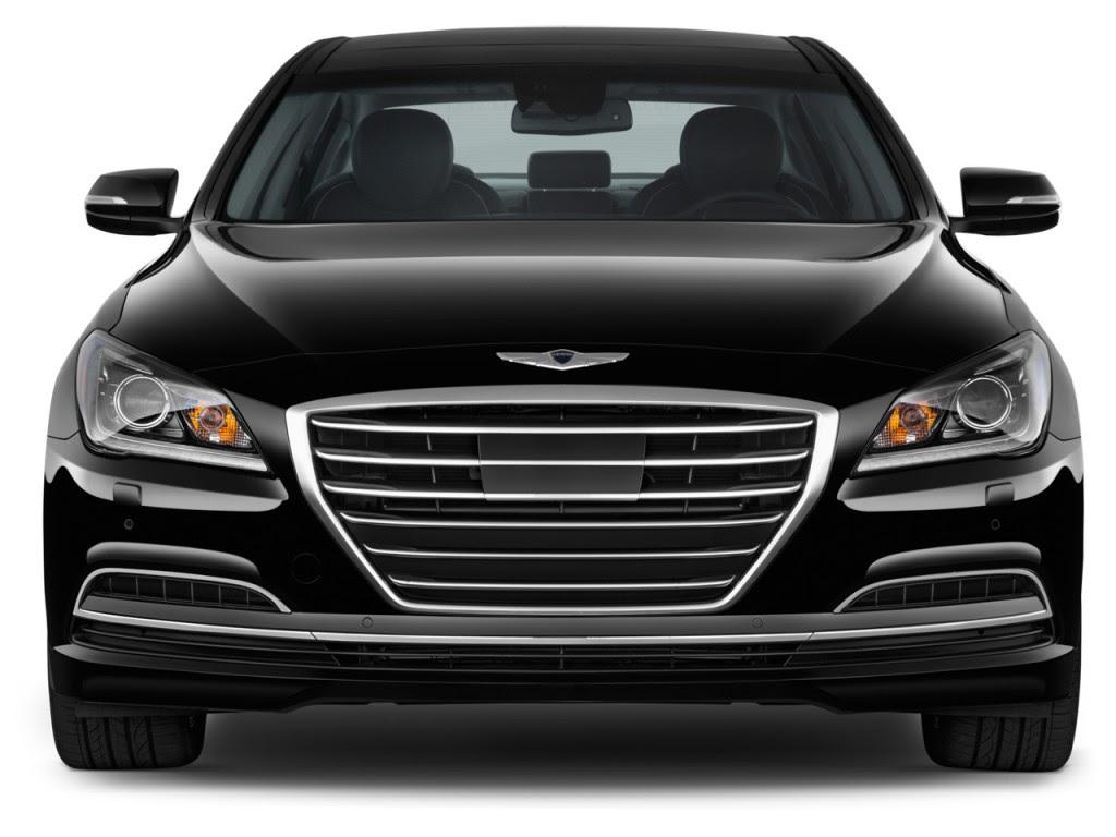 Image: 2016 Hyundai Genesis 4door Sedan V6 3.8L RWD Front Exterior View, size: 1024 x 768, type