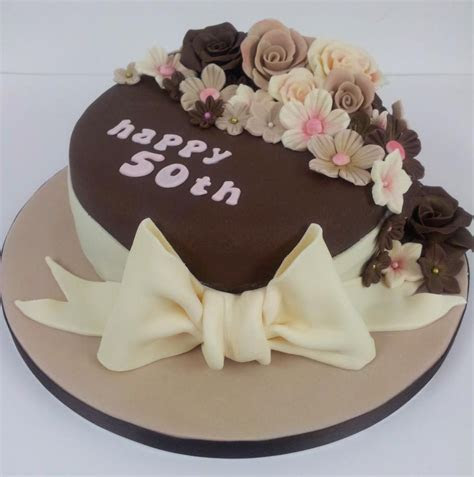 Chocolate 50th Birthday Cake   Cakes & Cake Decorating