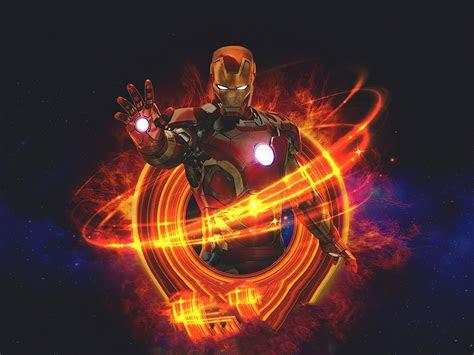 marvel iron man art  resolution wallpaper