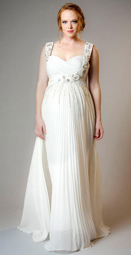 Maternity bridal dresses