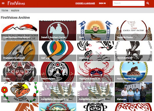 Cloud-based software deployed for First Nations language preservation