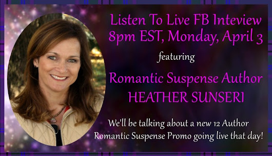 Live Facebook Interview - Heather Sunseri | Donna McDonald