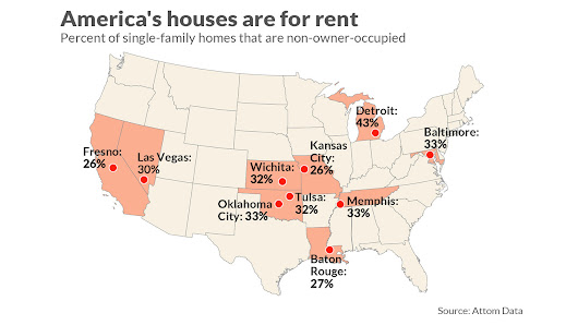 The new housing play: Helping priced-out renters become long-distance landlords - MarketWatch