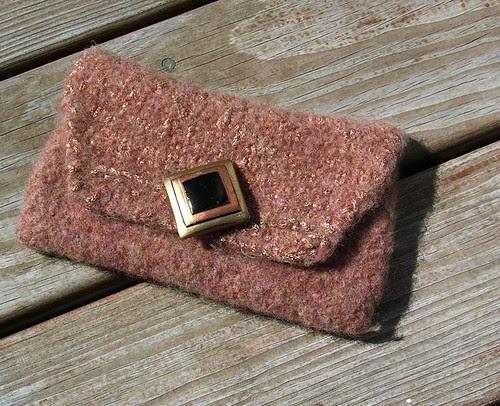 Floridian Copper Sand Clutch