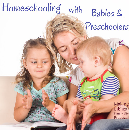 Homeschooling with Babies and Toddlers - MBFLP 212 - Ultimate Homeschool Radio Network