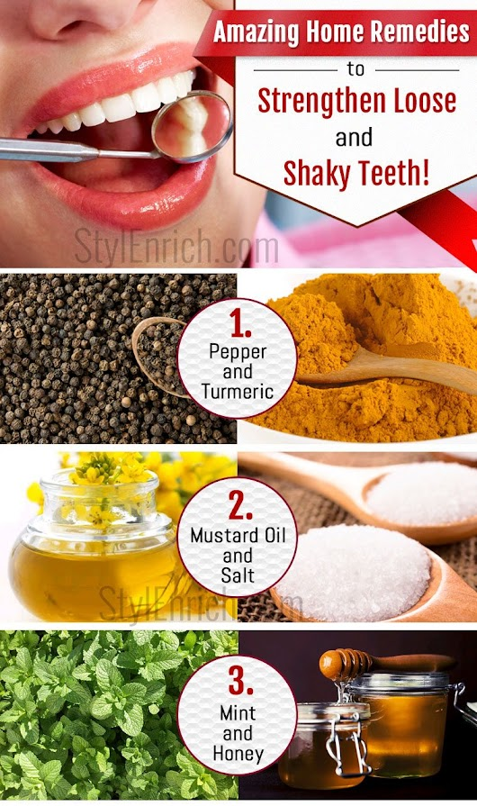 Home Remedies for Shaky Teeth That You Must Try!
