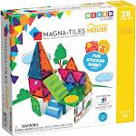 Valtech Magnatiles 28piece Magnetic Building House Set