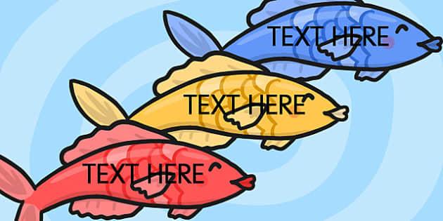Fish - edit, visual, displays, display, posters, poster
