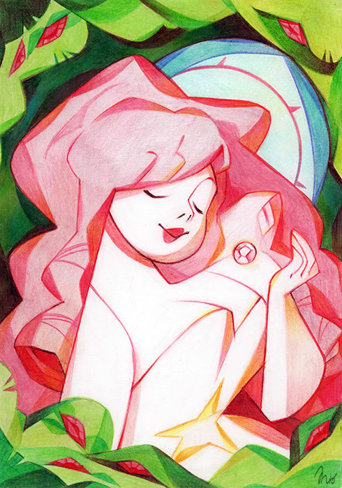 Yeah… I feel quite inspired by Steven Universe lately !