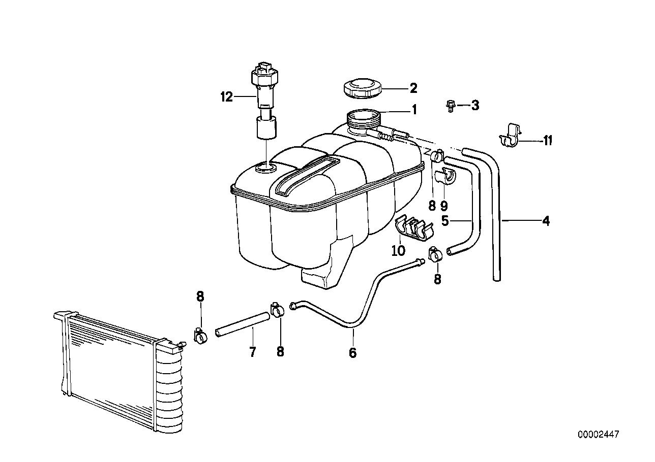 Youan: Bmw E30 Coolant Hose Diagram