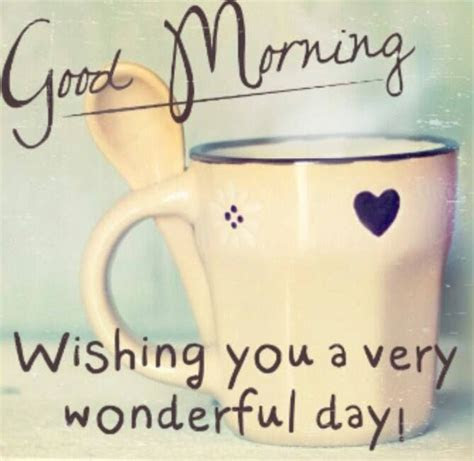 Good Morning Have Wonderful Day Quotes