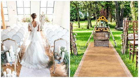 Top 10 Best Wedding Aisle Runners   Heavy.com