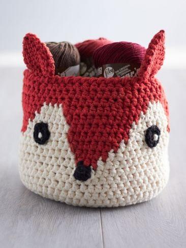 Foxy Stash Basket