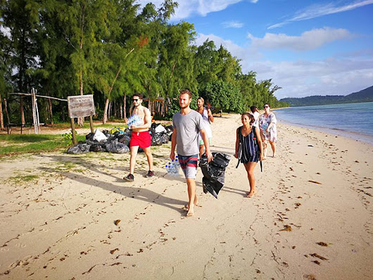 Clean-up at Île aux Bénitiers: An environmental protection project - Beachcomber Resorts & Hotels in Mauritius