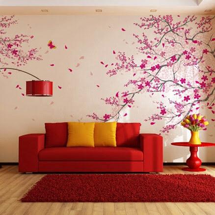 Papierpeint9 fresque murale papier peint Papier peint 4 murs salon