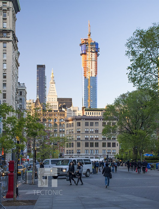 45 East 22nd Street Reaches 777' Pinnacle and Tops Out - New York YIMBY