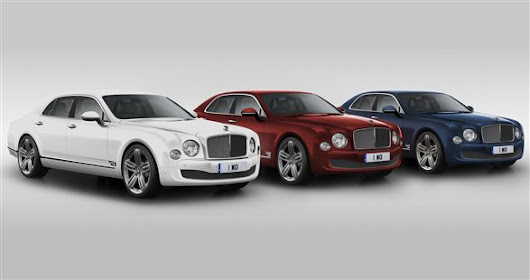 Bentley Mulsanne 95 edition revealed