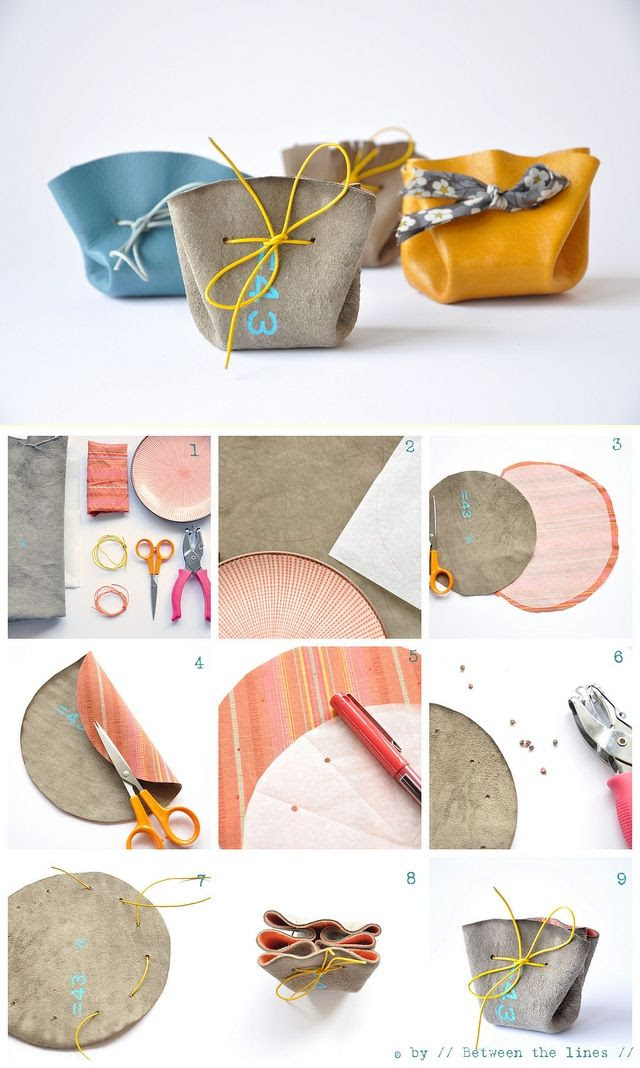 DIY little pouches...