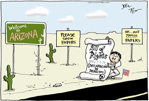 10th Amendment Political Cartoon