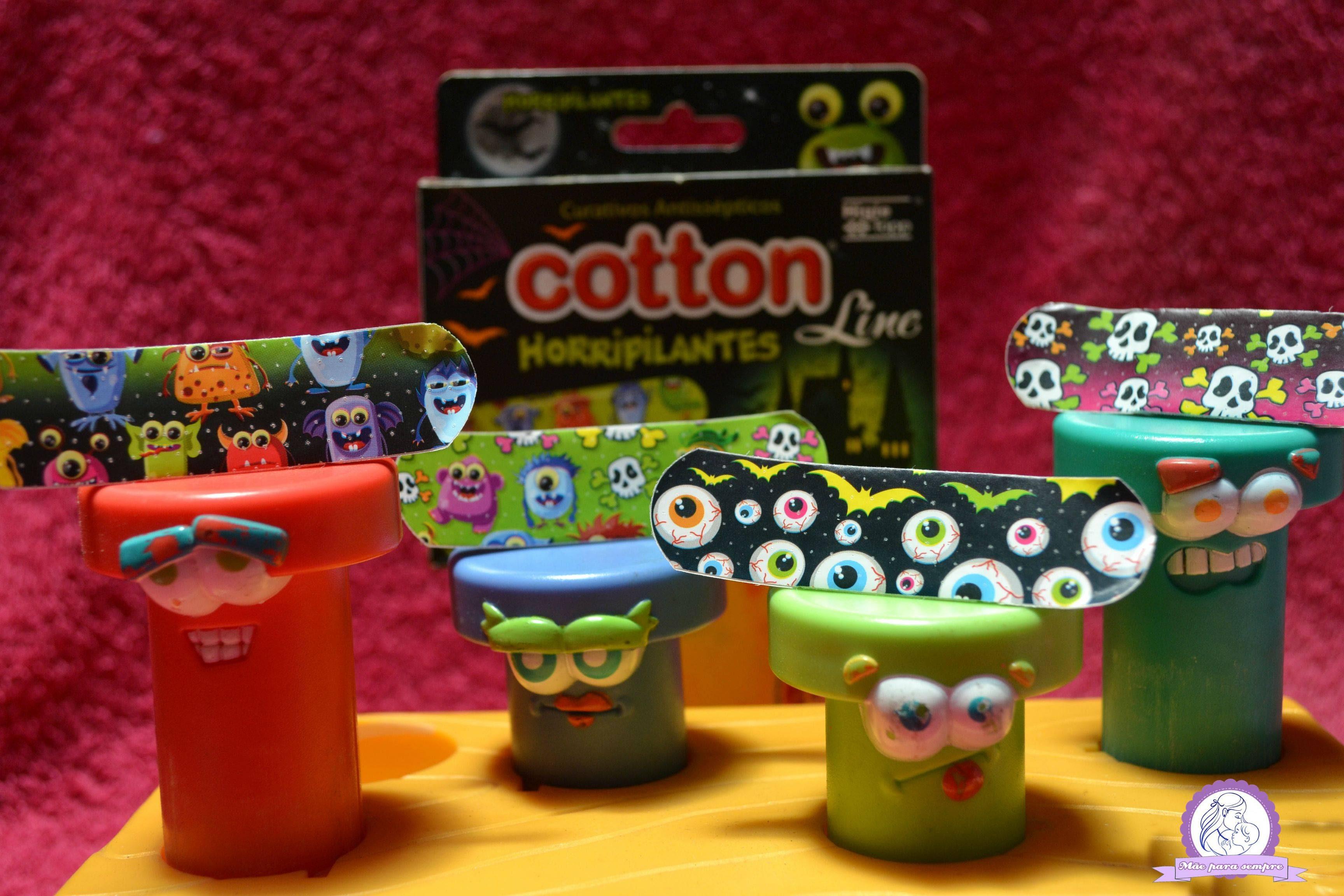 Medo curativos cotton line ajudam nessa superação