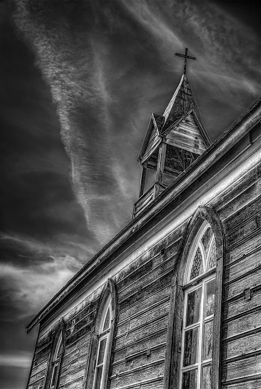 Saatchi Art: Church On Time - Limited Edition 1 of 50 Photography by Steve Austin
