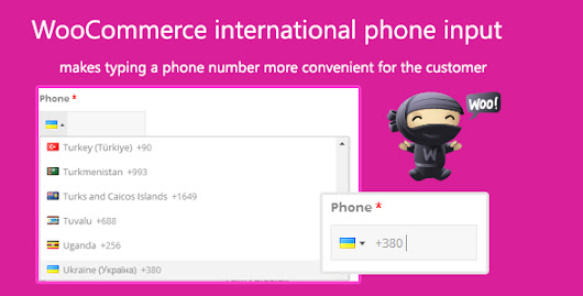 Download WooCommerce international phone input nulled | OXO-NULLED