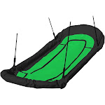 Swing-N-Slide Double Doozie Nest Swing, Green