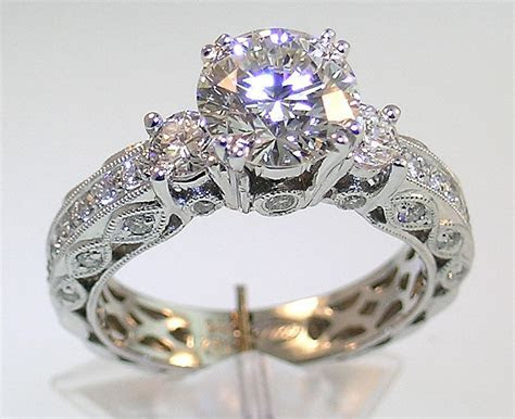 Vintage Engagement Rings 2014 Designs for Girls