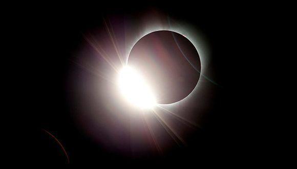 El eclipse total del 2017. Foto: AP
