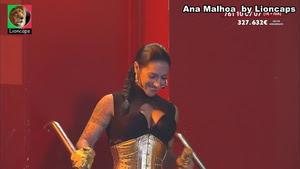 Ana Malhoa sensuall na novela Destinos Cruzados