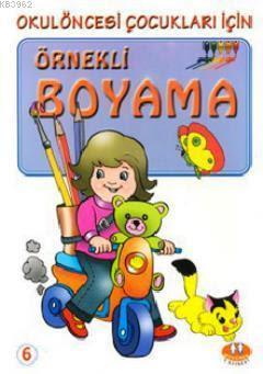 örnekli Boyama 6 Okulöncesi çocukları Için Kitap Kibo Katalog