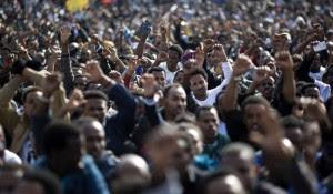 παράνομοι μετανάστες στους δρόμους του Τελ Αβίβ