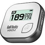 GolfBuddy Voice 2 Talking GPS Golf Rangefinder, Gray