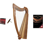 Roosebeck Heather Harp w/ Full Chelby Levers + Learn to Play Book